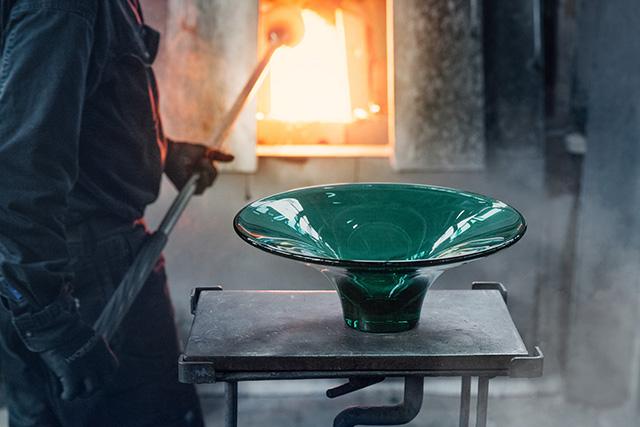 Oändlighet skål - glasblåseri bild 1