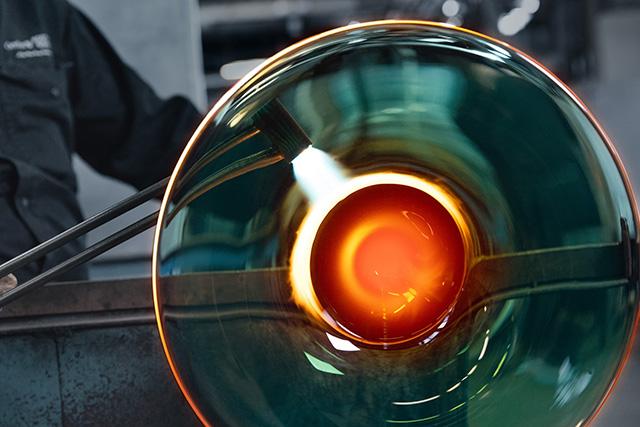 Oändlighet skål - glasblåseri bild 16