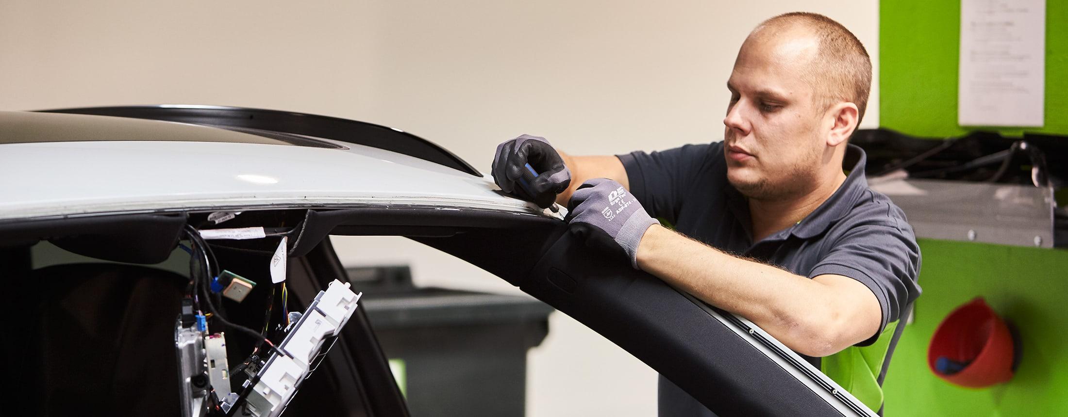 Reparation av bil